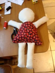 First sewn ragdoll