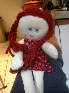 The first doll I ever finished