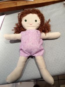 Lou Lou in her onesie